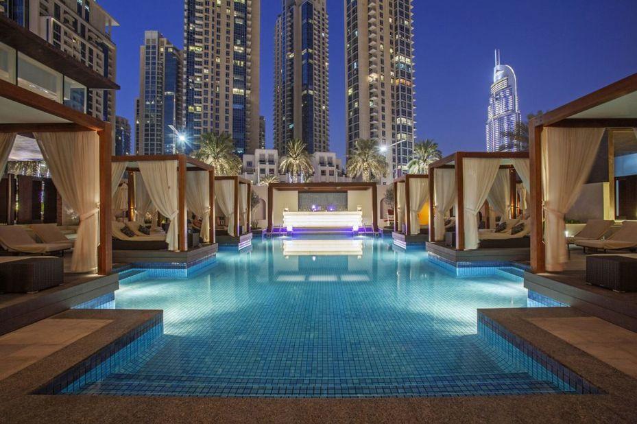 Vida Downtown - zwembad - Dubai - foto: Vida Downtown Dubai