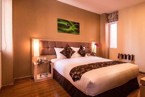 Vietnam - Ho Chi Minh City - GK Central Hotel - deluxe room