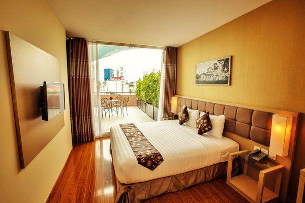 Vietnam - Ho Chi Minh City - GK Central Hotel -signature room
