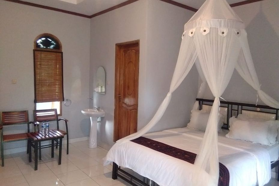 Villa Silverin - kamer - Bajawa - Flores - Indonesie - foto: Villa Silverin