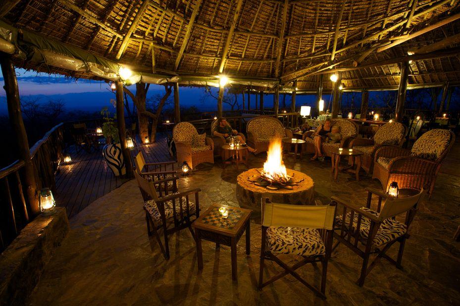 Vuma Hills - restaurant - Mikumi National Park -Tanzania - foto: Vuma Hills