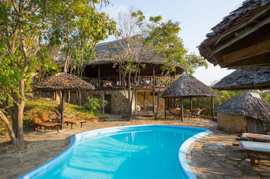 Vuma Hills - zwembad - Mikumi National Park -Tanzania - foto: Vuma Hills