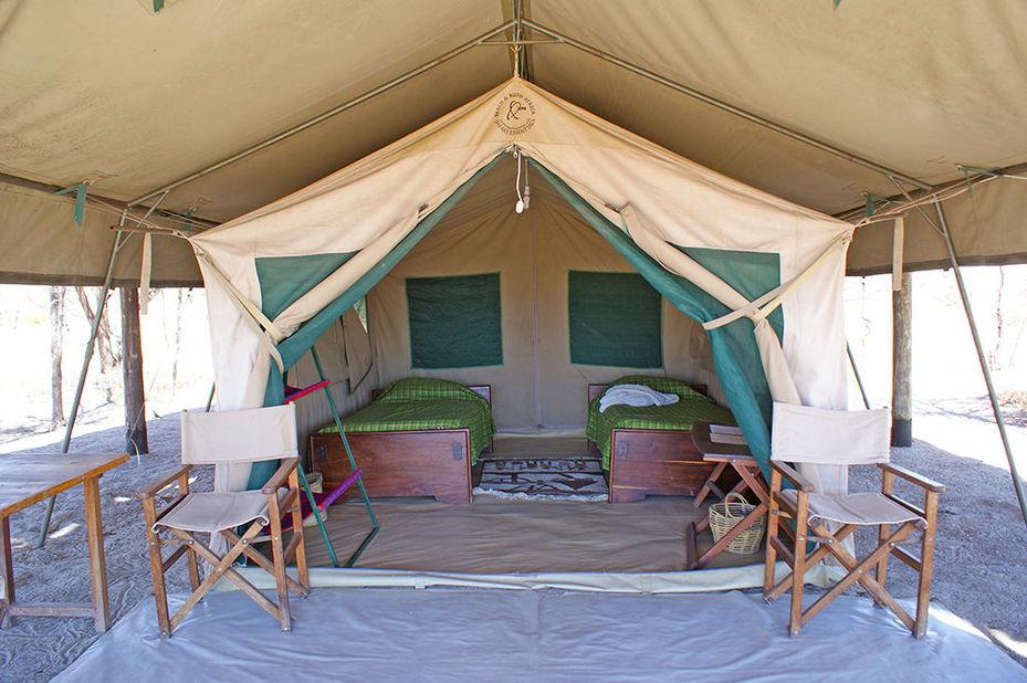 Whistling Thorn Tented Camp - kamer - Tarangire National Park -Tanzania - foto: Whistling Thorn Tented Camp