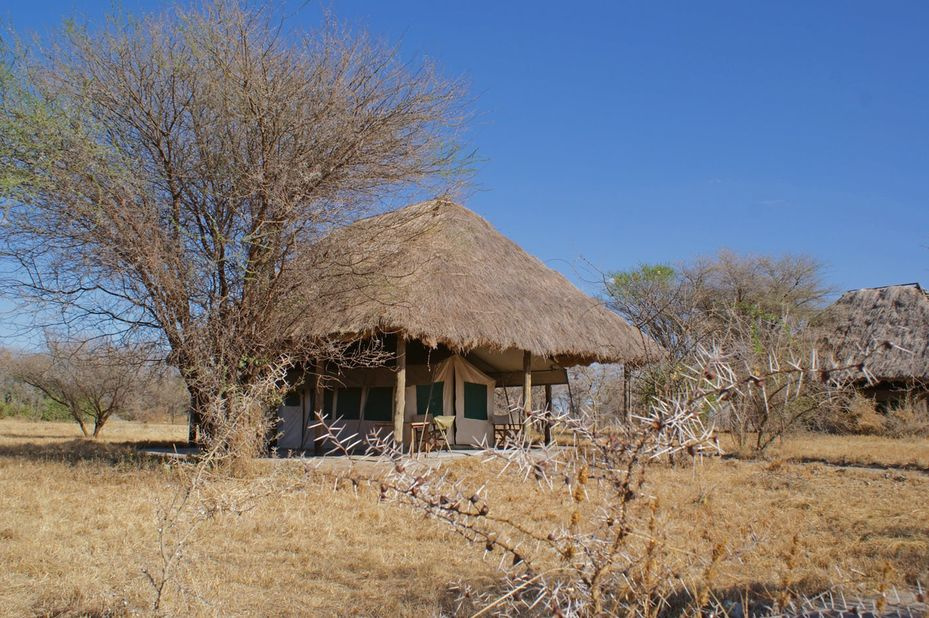 Whistling Thorn Tented Camp - tent - Tarangire National Park -Tanzania - foto: Whistling Thorn Tented Camp