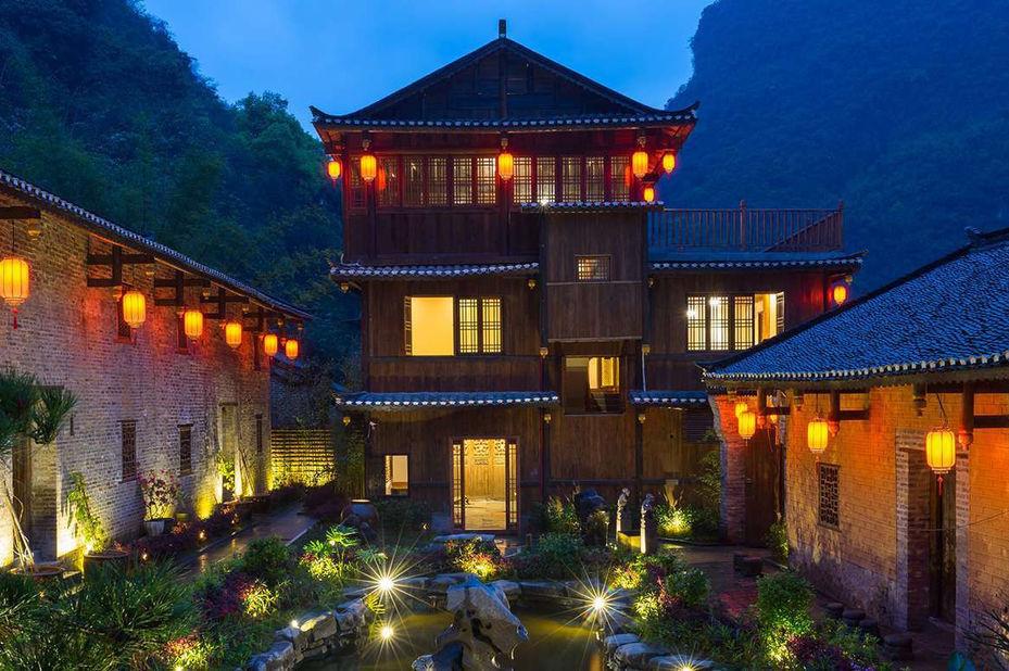 Yangshuo Ancient Garden - aanzicht - Yangshuo - China - foto: Yangshuo Ancient Garden