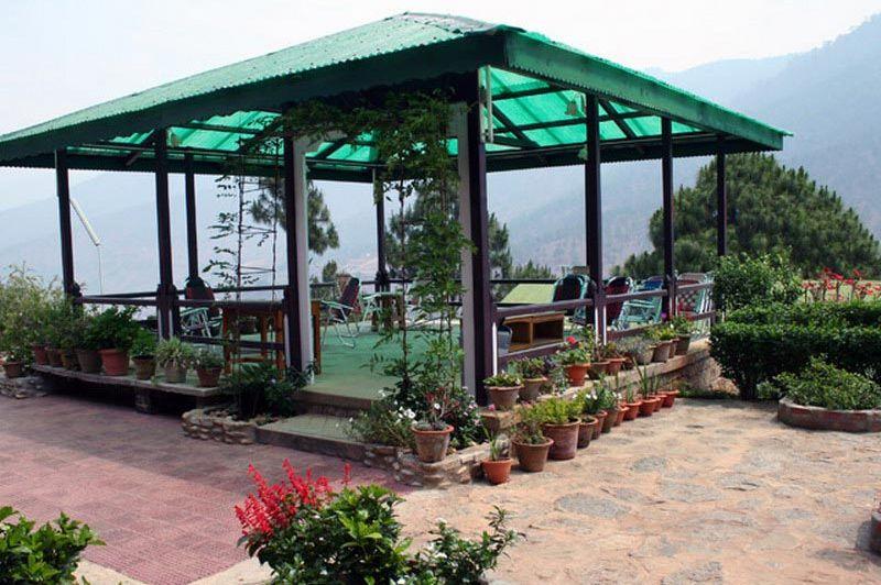 veranda hotel Punakha - Hotel Meri Puensum - Bhutan