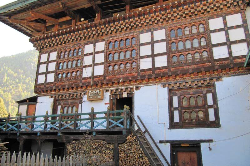 homestay in Bhutan (2) - homestay - Bhutan - foto: Mieke Arendsen