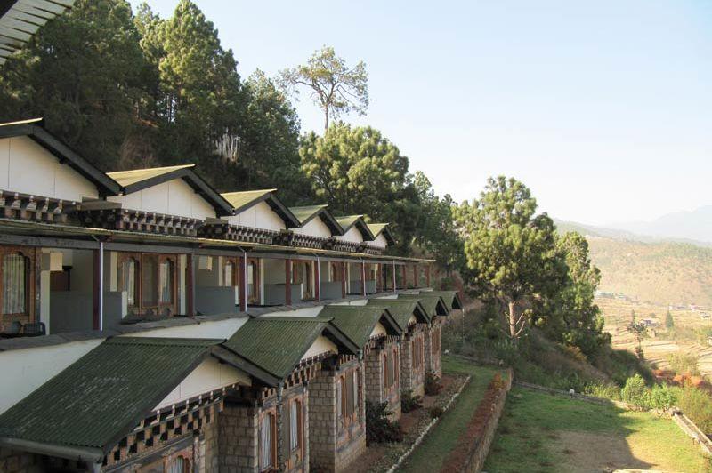 vooraanzicht Hotel Vara (2) - Hotel Vara - Bhutan