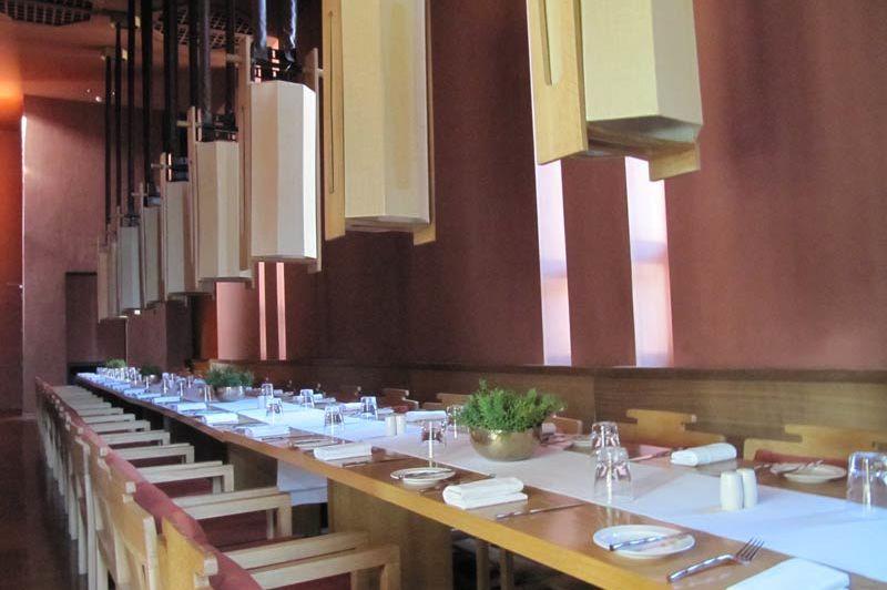 restaurant van Amankora resort - Amankora - Bhutan - foto: Mieke Arendsen
