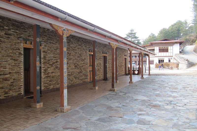 gastenkamers Mipham Guesthouse - Mipham Guesthouse - Bhutan - foto: Mieke Arendsen