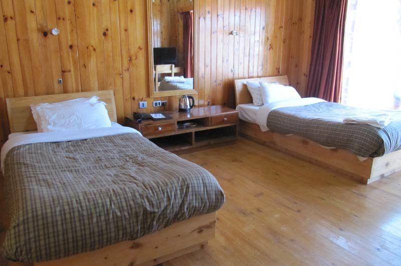 kamer van Rigsum Resort - Rigsum Resort - Bhutan - foto: Mieke Arendsen