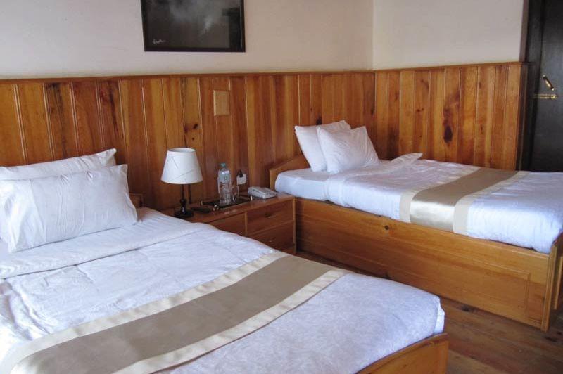 kamer van het Bongde Goma Resort - Bongde Goma Resort - Bhutan