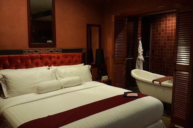 kamertype red in het Druk Hotel - Druk Hotel - Bhutan - foto: Mieke Arendsen