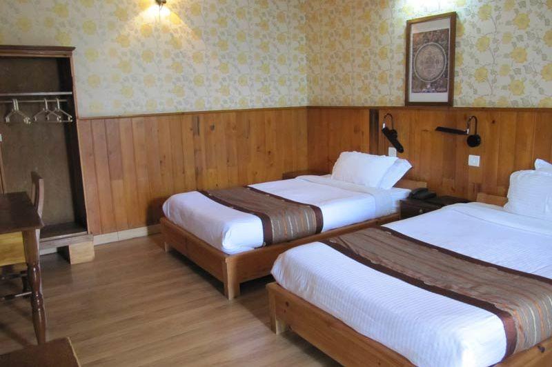 kamer van Yangkhil resort - Yangkhil resort - Bhutan