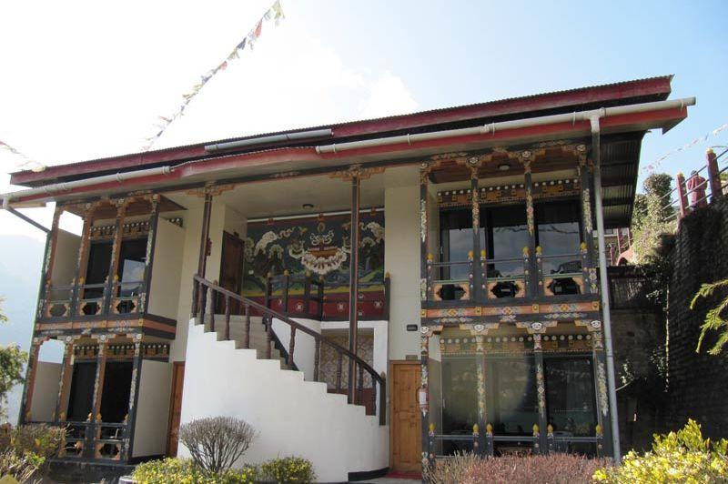 kamers van Yangkhil resort - Yangkhil resort - Bhutan