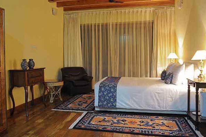 kamer van Lingkhar Lodge in Trashigang - Lingkhar Lodge - Bhutan - foto: archief