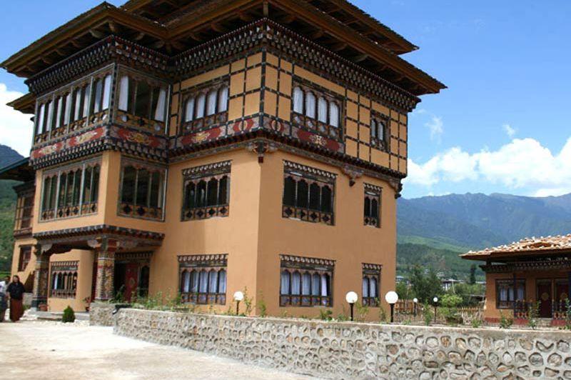 hoofdgebouw Janka Resort - Janka Resort - Bhutan - foto: Janka Resort