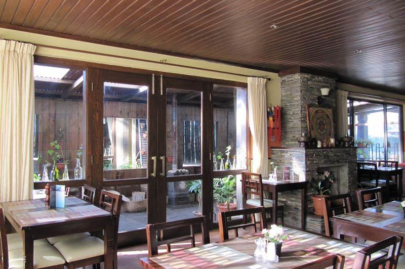 restaurant Khang Residency - Thimphu - Khang Residency - Bhutan - foto: Mieke Arendsen
