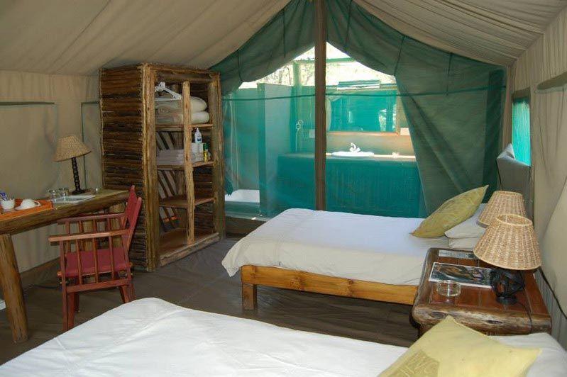 Tent Audi Camp - Audi Camp - Botswana - foto: Agent