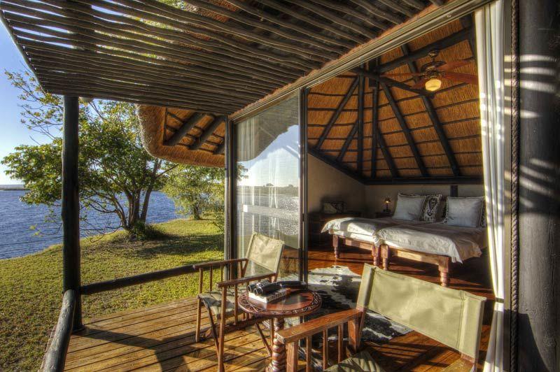 Chobe Savannah Lodge, double room veranda - Chobe National Park - Botswana - foto: Chobe Savannah Lodge