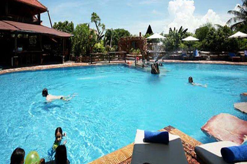 zwembad - La Veranda - Kep - Cambodja