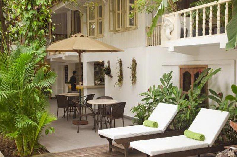 buiten - Villa Lanka - Phnom Penh - Cambodja