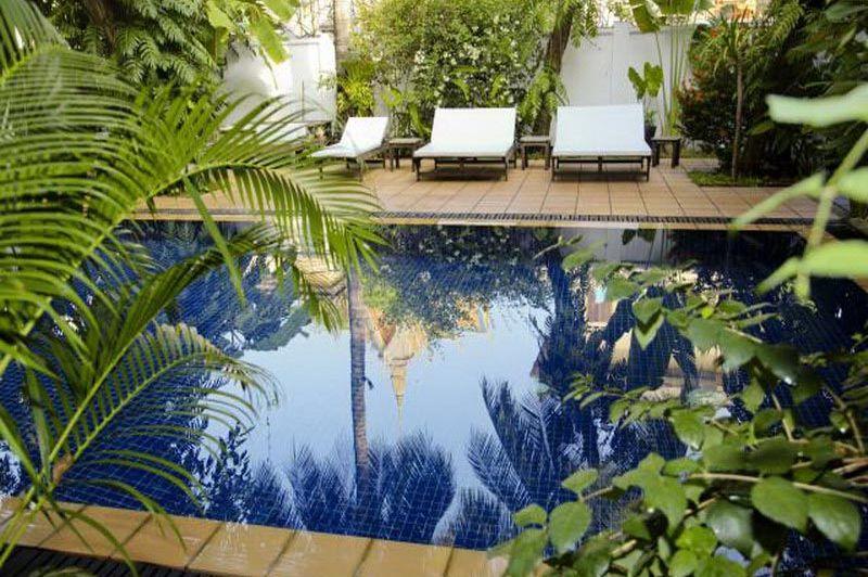 zwembad - Villa Lanka - Phnom Penh - Cambodja
