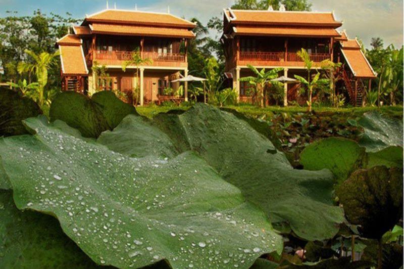 vooraanzicht Maisons Wat Kor - Maisons Wat Kor - Cambodja