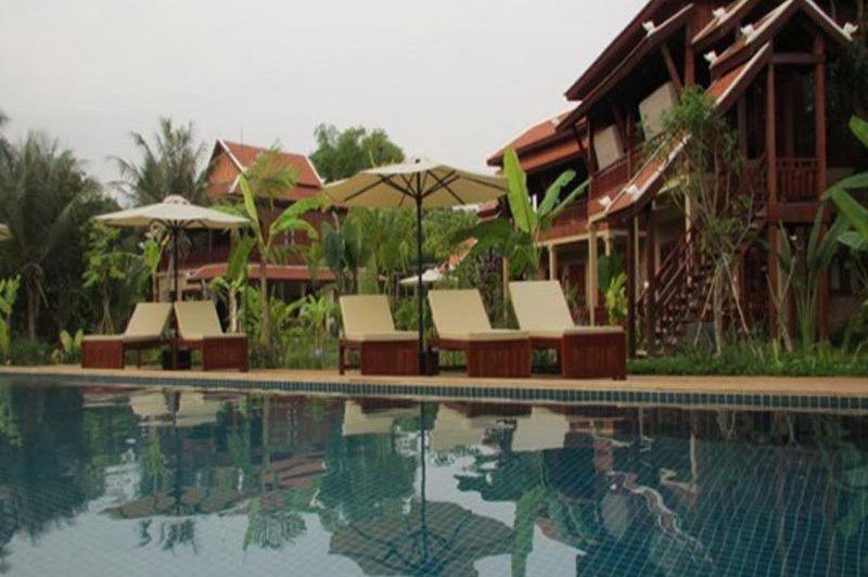 zwembad Maisons Wat Kor - Maisons Wat Kor - Cambodja