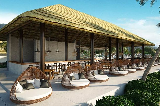 beachbar met zitjes - Royal Sands - Cambodja