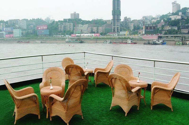 Emperor Cruise - uitzicht - Yangzte cruise Emperor - China