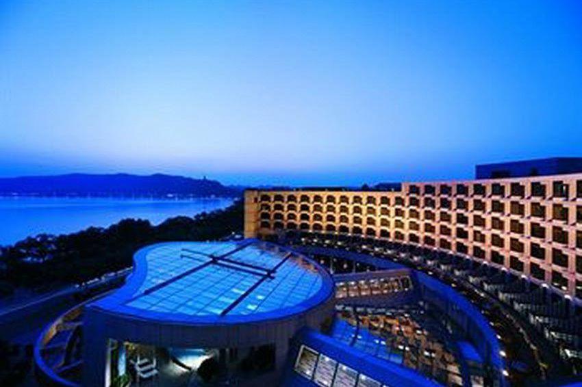 buiten met zwembad - Hyatt hangzhou - Hangzhou - China