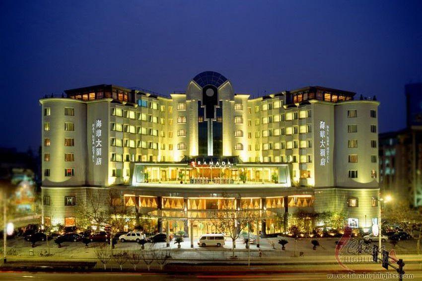 buitenkant gebouw - Ramada Plaza - Hangzhou - China