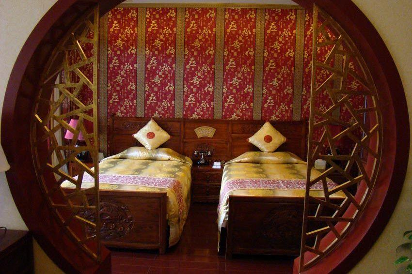 kamer aparte bedden Bamboo garden - Bamboo garden - China