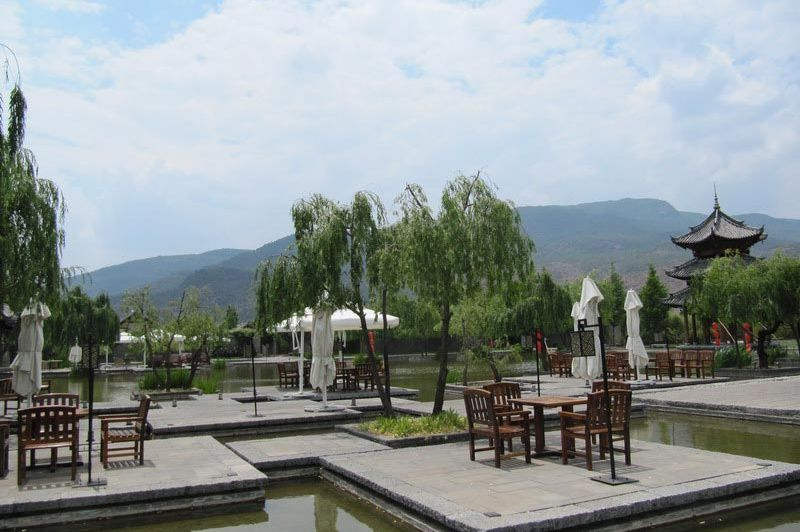 terras Banyan Tree Lijiang - Banyan Tree Lijiang - China