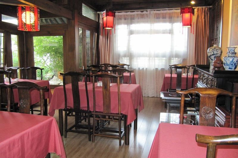 eetzaal Zen garden Hotel Lion Yard - Zen garden Hotel Lion Yard - China