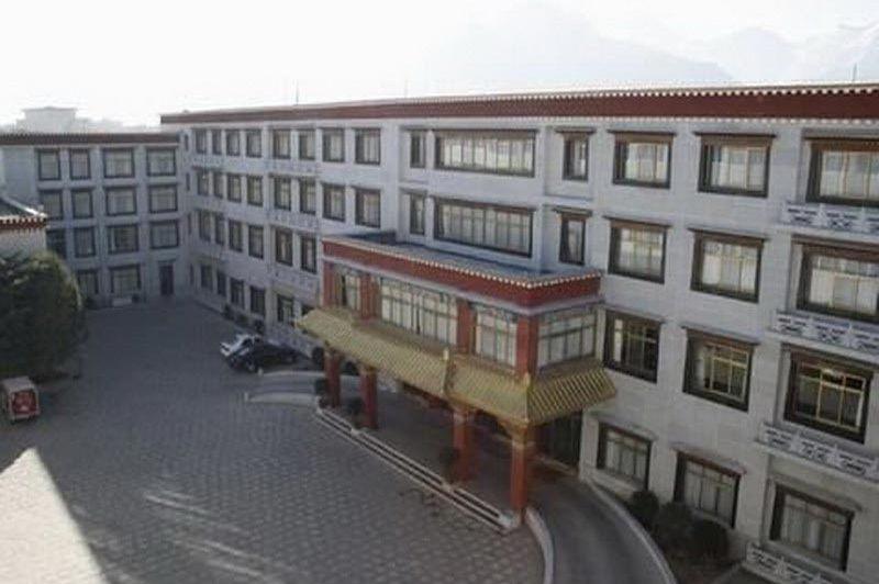 voorkant Gang Jian Hotel Lhasa - Gang Jian Hotel Lhasa - China