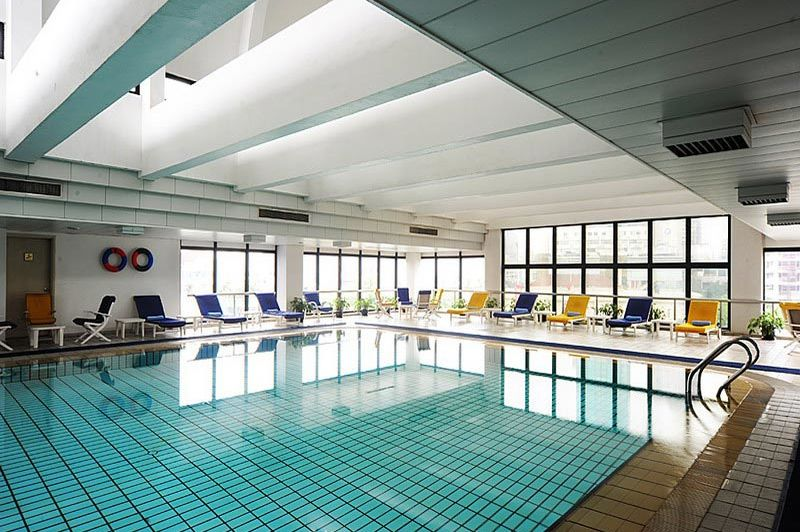 zwembad Equatorial Hotel Shanghai - Equatorial Hotel Shanghai - China