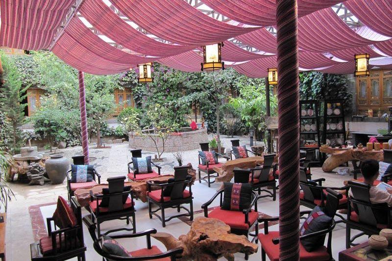 lounge Wangfu Hotel in Lijiang - Wangfu Hotel Lijiang - China