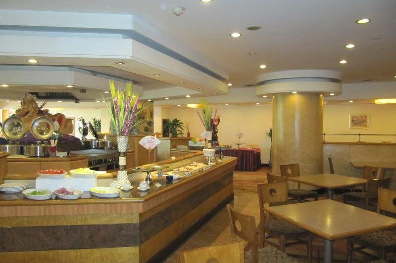 restaurant van het Yin He Dynasty Hotel in Chengdu - Yin He Dynasty Hotel Chengdu - China