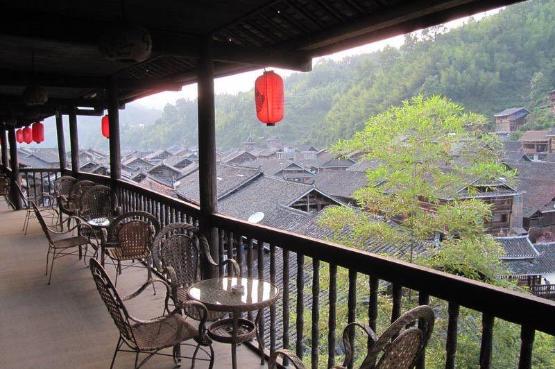 uitzicht vanaf terras - Zhoaxing viop building - Zhoaxing viop building - China