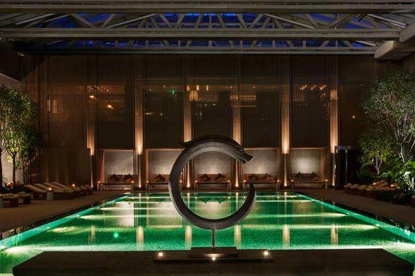 Zwembad in het Rosewood Hotel Beijing - Rosewood Hotel Beijing - China