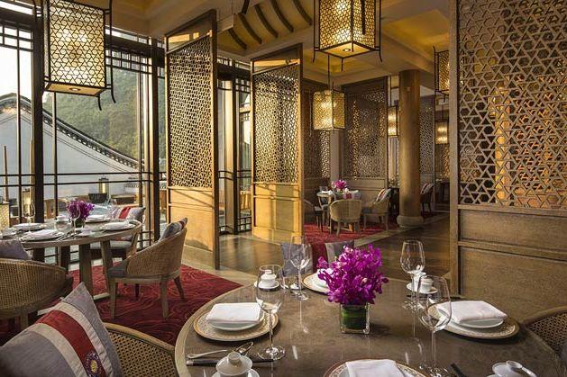 Restaurant van Banyan Tree Yangshuo - Banyan Tree Yangshuo - China - foto: Banyan Tree Yangshuo