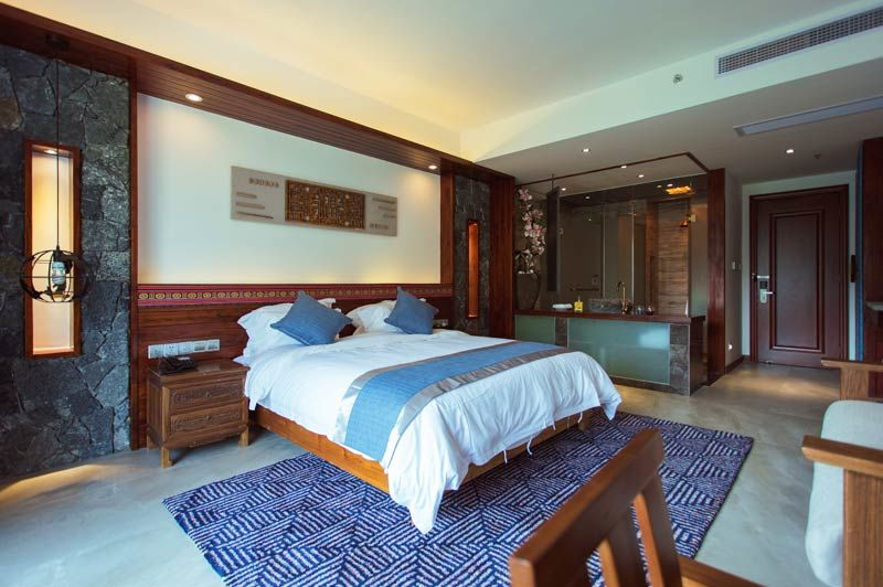 double riverview room van Li River Resort in Yangshou - Li River Resort - China - foto: Li River Resort