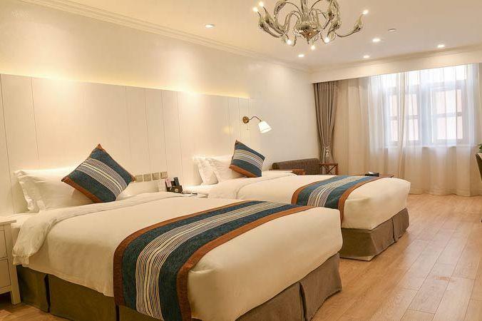 standaardkamer van Sihai Yijia Boutique hotel in Xi'an - Sihai Yijia Boutique hotel - China - foto: lokaal agent