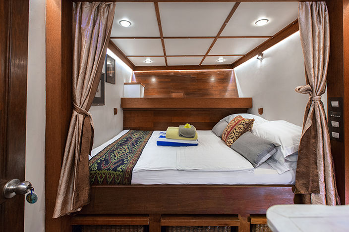 double bed - Seatrek Bali - Indonesie - foto: Seatrek Bali