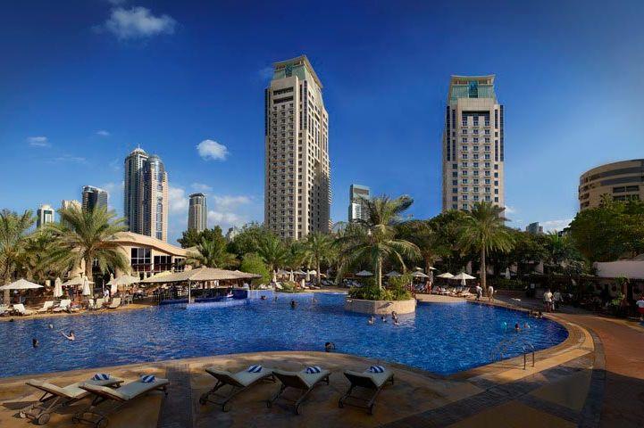 Zwembad Habtoor Grand Dubai - Habtoor Grand - Dubai