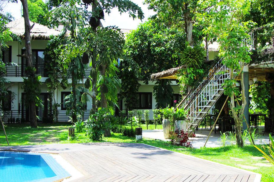 exterieur - Rokkhak River Resort - Siem Reap - Cambodja - foto: Rokkhak River Resort