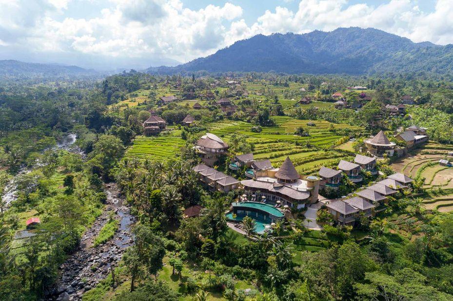 exterieur - Wapa di Ume - Sidemen - Bali - Indonesië - foto: Wapa di Ume Sidemen