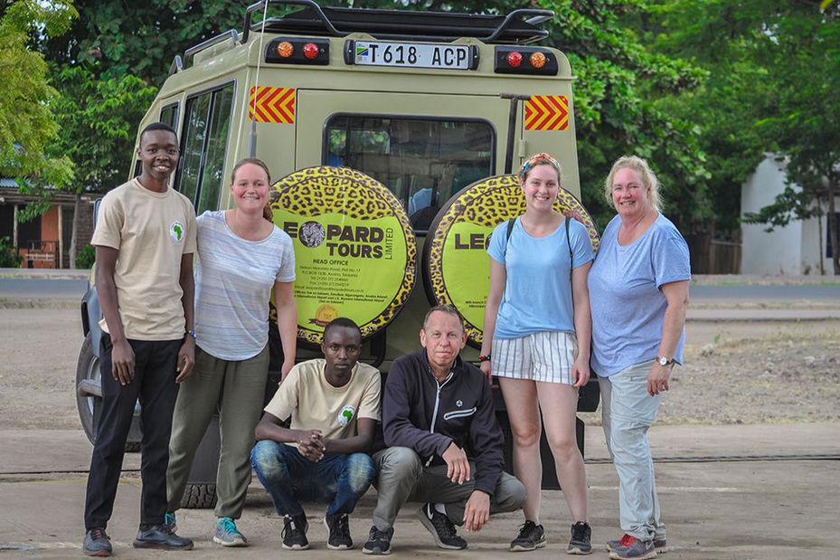 familie in Tanzania (klantfoto) - foto: klantreactie